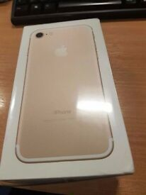 Apple iPhone 7 128gb Gold - Factory Unlocked - Brand New & Sealed - RRP £699