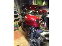 Triumph sprint petrol tank