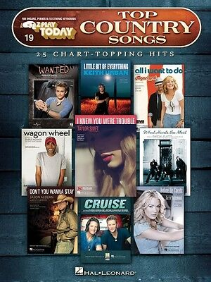 Top Country Songs Sheet Music E-Z Play Today Book NEW 000137780
