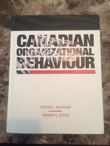 Canadian Organizational Behaviour Textbook