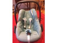 Maxi Cosi Pebble car seat vg condition group 0+