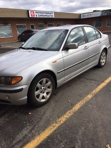 2003 Silver BMW 325i AS IS