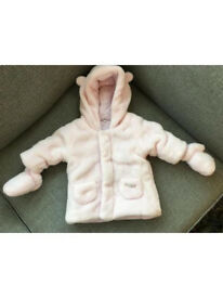 Girls Jacket - Age 1 month