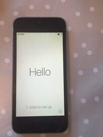 iPhone 5s 16GB smoke grey (EE)