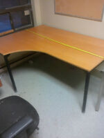 2 X Ikea Desks, Corner Table, File Drawer, Book Shelf