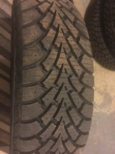 4 BRAND NEW GOODYEAR NORDIC WINTER TIRES Kitchener / Waterloo Kitchener Area image 1