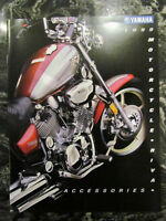 YAMAHA 1999 MOTORCYCLE ACCESSORIES CATALOG FULL SIZE