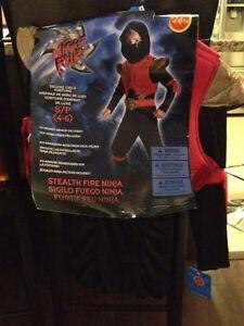 Brand New Size 4-6 Ninja Costume