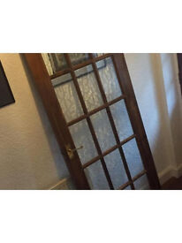 Solid Wood 15 Panel Glazed Door