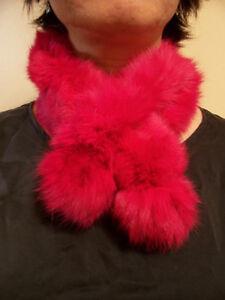 Various fur scarves - mink, fox, rex rabbit - brand new Oakville / Halton Region Toronto (GTA) image 4