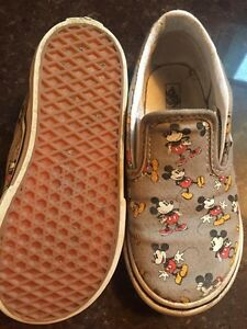 Mickey Mouse VANS size 10 toddler