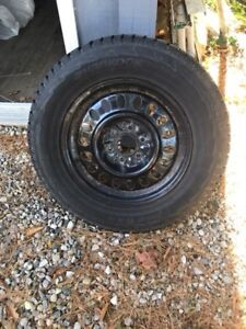 245/65R17 Hankook Snow Tires and Rims