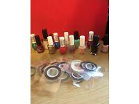 Nail varnishes used