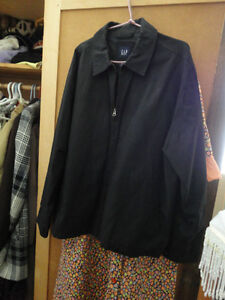 Mens Black Gap Jacket