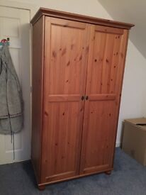 Oak Wardrobe For Sale