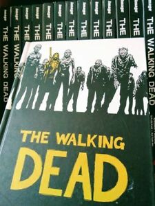 THE WALKING DEAD books 1-14
