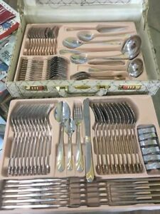 Brand new Carl Weill 78 piece flatware set is on sale for $156!!