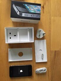 iPhone 4, black, mint!
