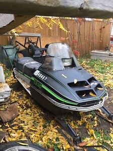 1978 Artic Cat Jag Spirit 2000 with ownership