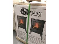 Wood burning stove. Brand new in box