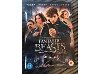 Brand New Unopened Fantastic Beasts And Where To Find Them DVD