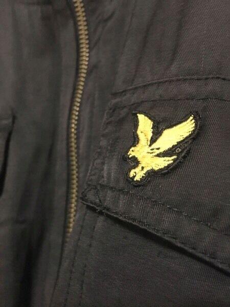 Lyle and Scott vintage bomber jacket.