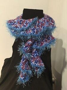 Handmade scarves.