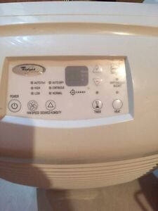 Whirlpool gold accudry de-humidifier