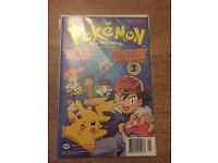 Signed Pokemon comic sealed and very rare cards.