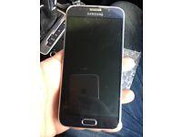 Samsung s6 hairline crack unlocked. Still works can deliver