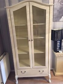 Two cream units for sale