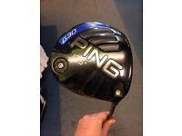 PING G30 DRIVER 10.5* S FLEX VGC