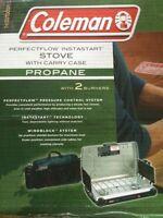 Coleman camping stove.