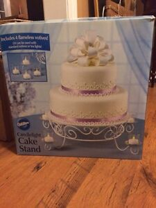 """14"""" Cake Stand With Flameless Tealights For Sale  Kawartha Lakes Peterborough Area image 2"""