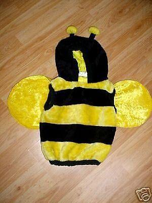 Infant Toddler Boys Girls Halloween Bumble Bee-Dress Up Costume-12-18-24 Mo](Bumble Bee Halloween Costume Toddler Boy)