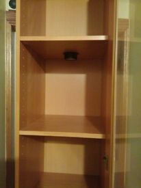IKEA Display Cabinet with lighting