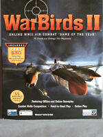 PC Game - WarBirds II .Complete. (Gently Used).