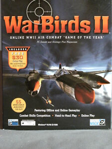 PC Game - WarBirds II Complete. Gently Used; Excellent Condition