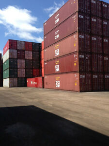 NEW & USED 20' and 40' Sea Containers ~ Blowout Specials!!