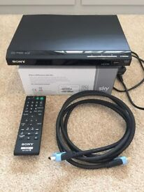SONY DVD Player DVP-SR760H with HD Upscaling
