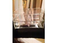 Perspex jewellery box