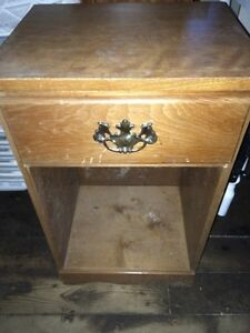 Sturdy pine nightstand only $5