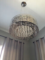 Beautiful Modern Chandelier Crystal Nest. Brand New Unpacked