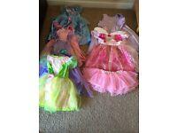 Dressing up princess dresses