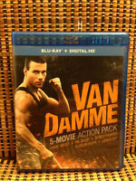 Van Damme Action Pack (5-Disc Blu-ray, 2014)Hard Target/The Ques