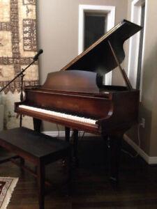 Baby Grand Piano (Howard)   - belonged to famous Bobby Gimby