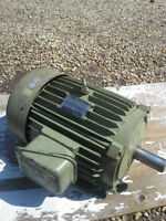 7.5 h.p 575 volt 3 phase electric motor