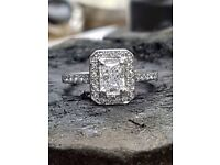 Platinum diamond ring from Lunns! (Price drop)