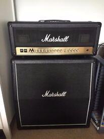 Marshall Half Stack Guitar Amp MA100H / MX412a