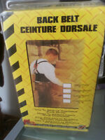 BACK BELT SUPPORT INDUSTRIAL GRADE - CEINTURE DORSALE